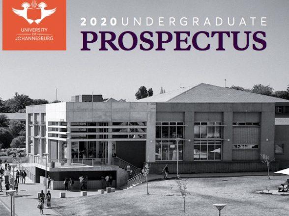 2020 University of Johannesburg (UJ) Prospectus pdf online