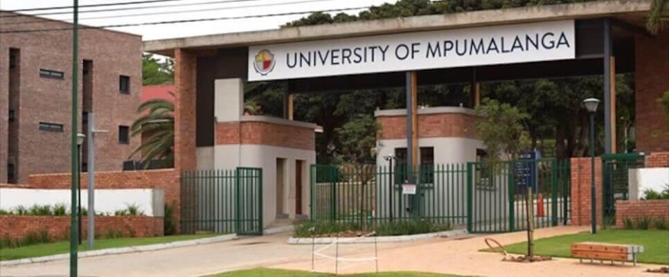 University of Mpumalanga 2021 Application