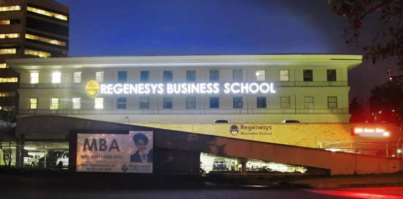 Regenesys Business School 2020 Courses Offered