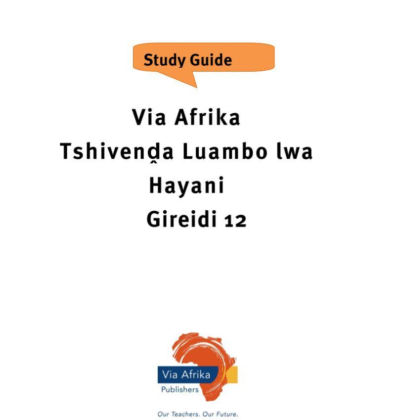 Tshivenda Grade 12 Free Study Guide